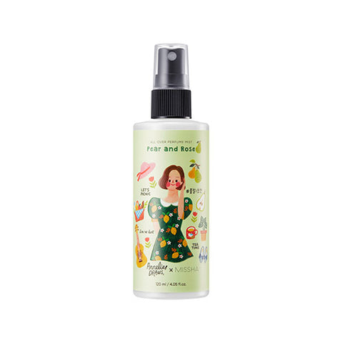 [Annelies Edition] MISSHA All Over Perfume Mist [Pear&Rose] (120ml)