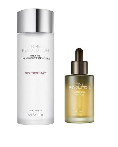 MISSHA Time Revolution The First Treatment Essence RX (150ml) + Artemisia Ampoule (50ml)