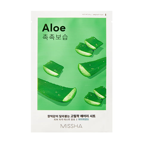 MISSHA Airy Fit Sheet Mask (Aloe) (0.19g)