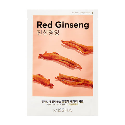 MISSHA Airy Fit Sheet Mask (Red Ginseng) (0.19g)