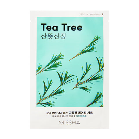 MISSHA Airy Fit Sheet Mask (Tea Tree) (0.19g)