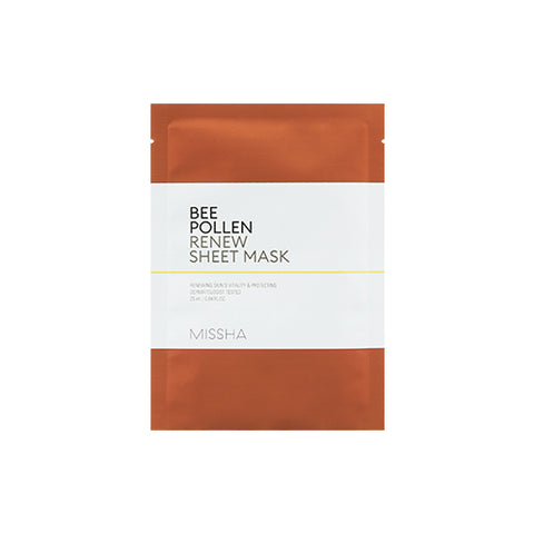 MISSHA Bee Pollen Renew Sheet Mask (25ml)