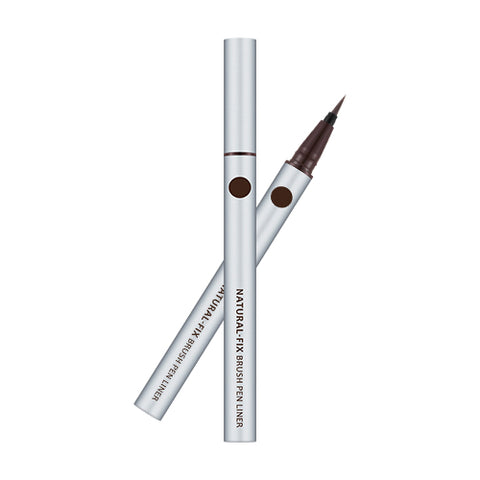 MISSHA Natural Fix Brush Pen Liner (Brown) (0.6g)