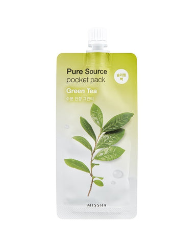MISSHA Pure Source Pocket Pack (Green Tea) (10m)