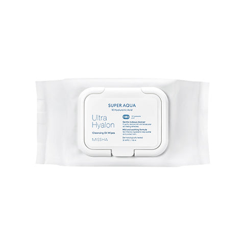 MISSHA Super Aqua Ultra Hyalron Oil In Tissue (30 Wipes/158ml)