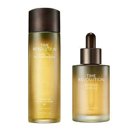 MISSHA Time Revolution Artemisia Essence (150ml) + Ampoule (50ml)