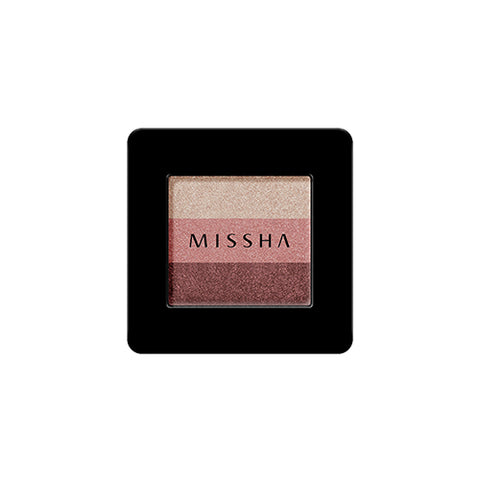 MISSHA Triple Shadow No.6 (Marsala Red) (2g)