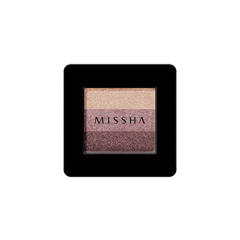 MISSHA Triple Shadow No.1 (Brownie Pink) (2g)