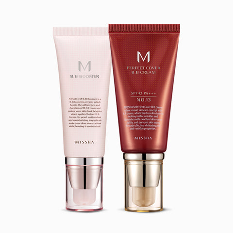 MISSHA M Perfect Cover BB Cream + MISSHA M BB Boomer Bundle