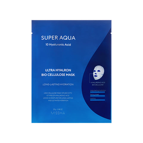Super Aqua Ultra Hyalron Bio Cellulose Mask (25g)