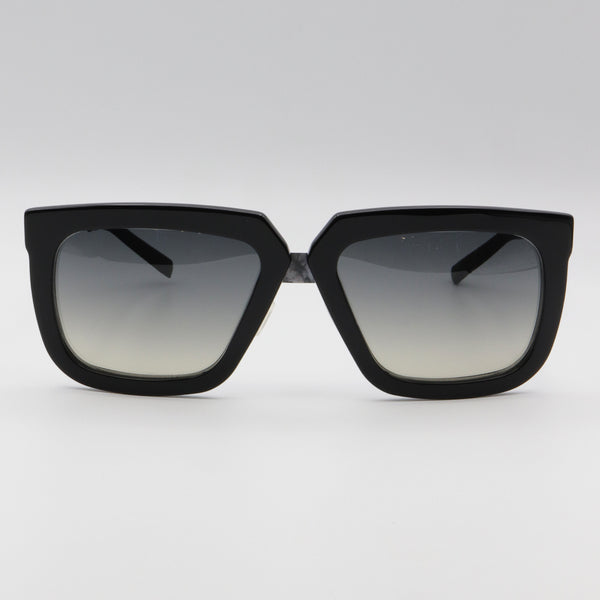 236S113 Pugnale & Nyleve Aviator Black Sunglasses