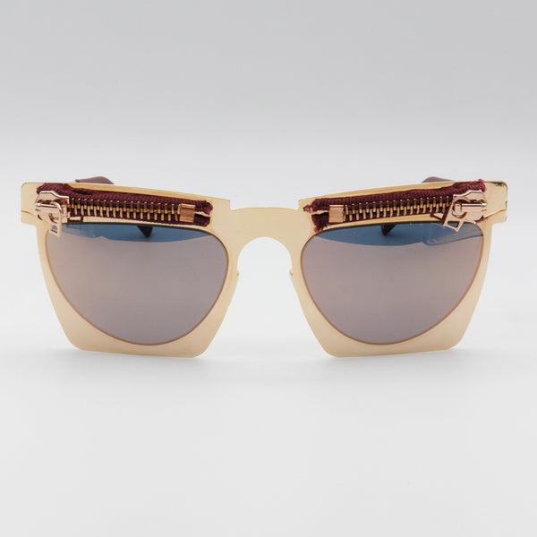 259S111 Pugnale & Nyleve Rose Gold Color Sunglasses