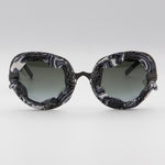 228s Pugnale & Nyleve Black and White Sunglasses