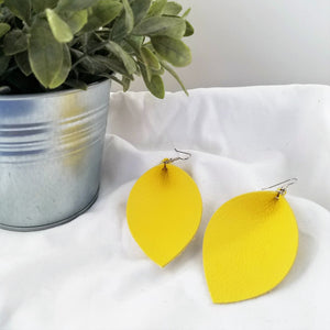 Earrings / Leaf / XL