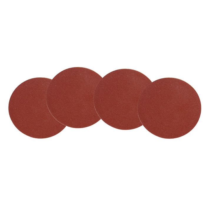 WEN 12SD240 12-Inch 240-Grit Adhesive-Backed Disc Sandpaper, 4-Pack