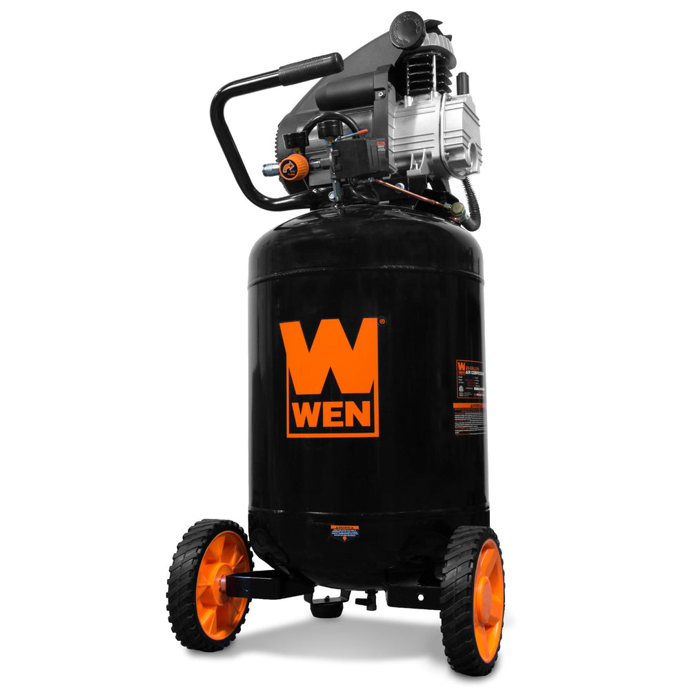WEN R2202 20-Gallon Oil-Lubricated Portable Vertical Air Compressor (Manufacturer Refurbished)