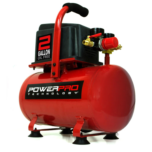 PowerPro 22020 2-Gallon Oil Free Air Compressor
