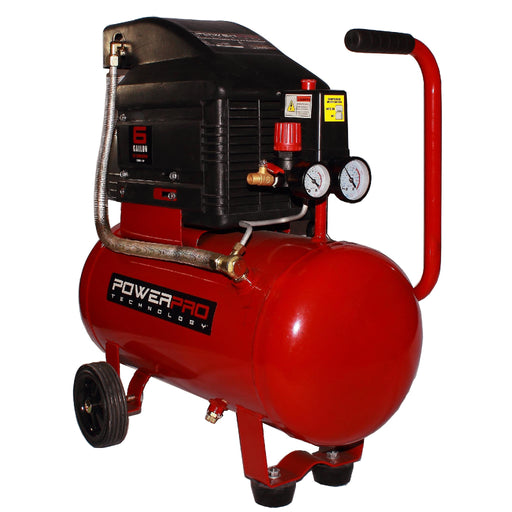 PowerPro 22060 6-Gallon Horizontal Tank Air Compressor