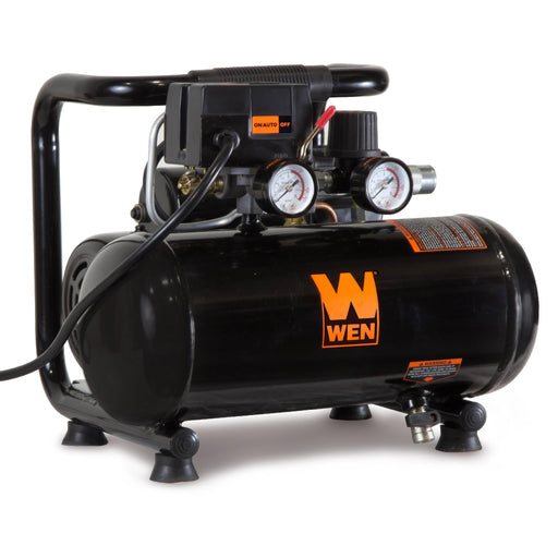WEN 2281 1-Gallon Oil-Free Horizontal Portable Air Compressor