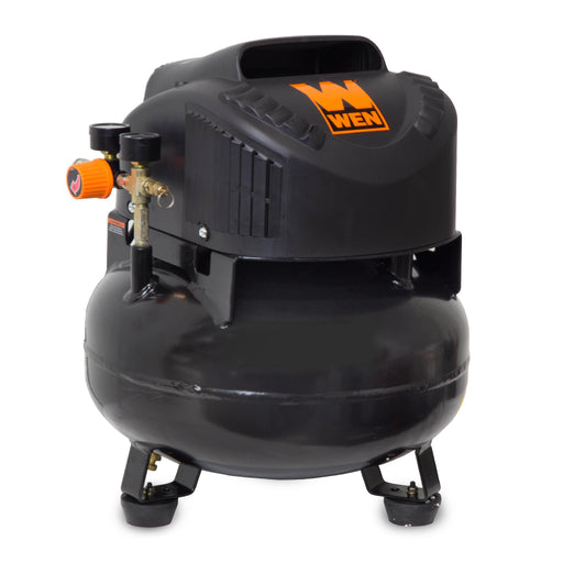 WEN 2286 6-Gallon Oil-Free Pancake Air Compressor