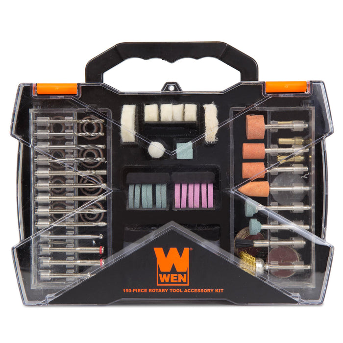 WEN 230151A 150-Piece Rotary Tool Accessory Kit with Carrying Case