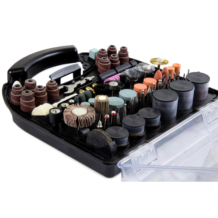 WEN 230321A 320-Piece Rotary Tool Accessory Kit with Carrying Case