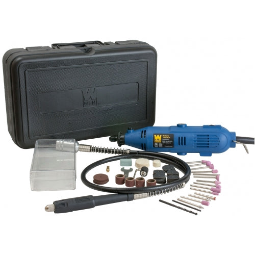 WEN R2305 Rotary Tool Kit with Flex Shaft (Refurbished by Manufactuer)