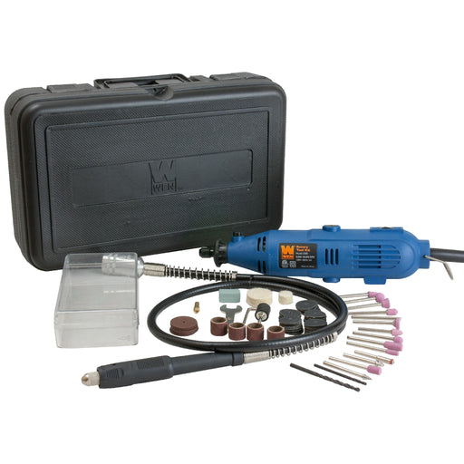 WEN 2305 Rotary Tool Kit with Flex Shaft