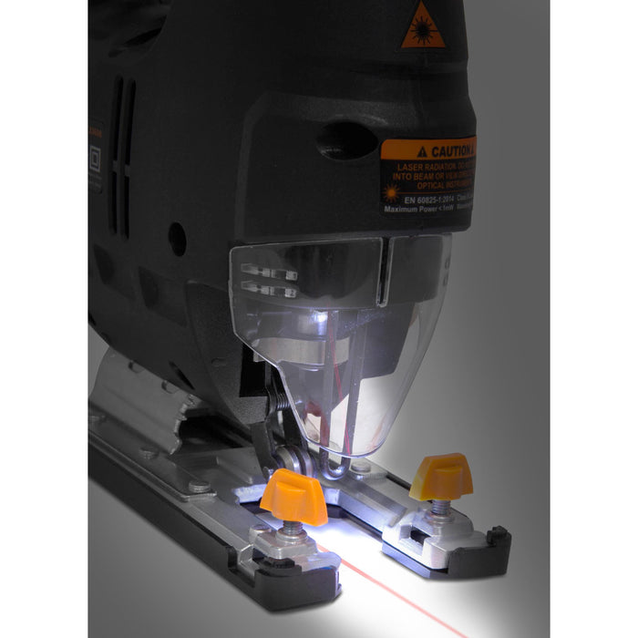 WEN R33606 6.6-Amp Variable Speed Orbital Jig Saw with Laser and LED Light (Manufacturer Refurbished)