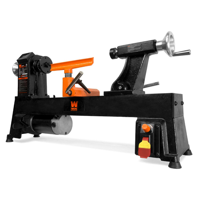 WEN R34018 12-Inch by 18-Inch Variable Speed Cast Iron Wood Lathe (Manufacturer Refurbished)