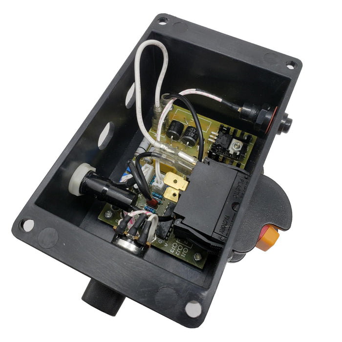 [3420-036ASM] Switch Box Assembly (Includes Circuit Board, On/Off Switch, Circuit Breaker, Speed Control, Wire) for WEN 3420T