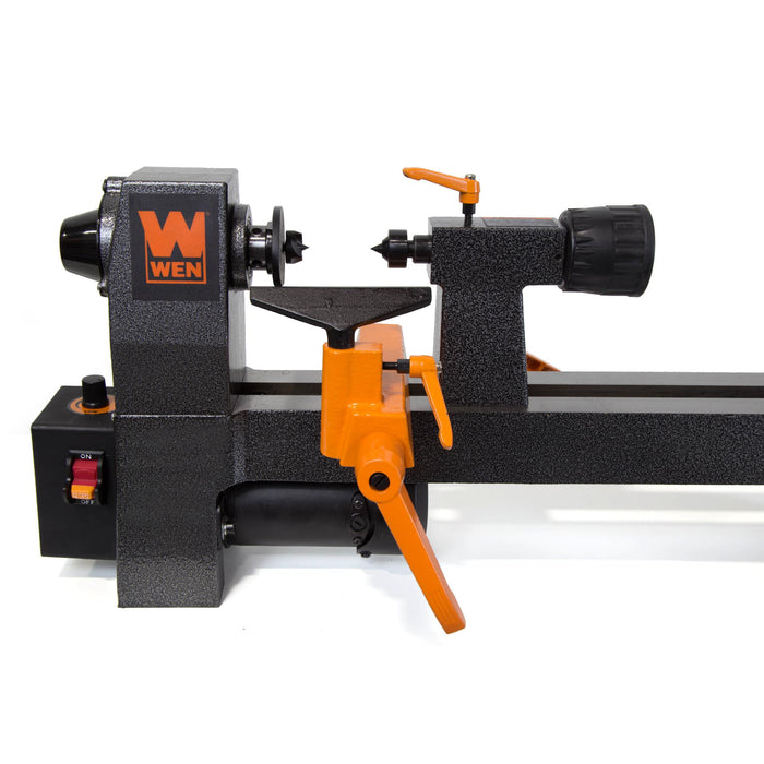 WEN 3421 3.2-Amp 8-Inch by 12-Inch Variable Speed Mini Benchtop Wood Lathe