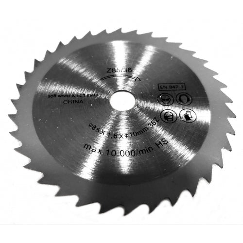 [36703BW] Wood-Cutting Blade, 30-Teeth for WEN 36703