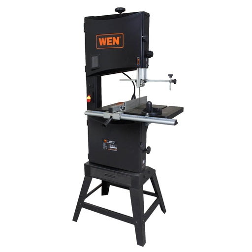 WEN 3966 14-Inch Two-Speed Band Saw with Stand and Worklight