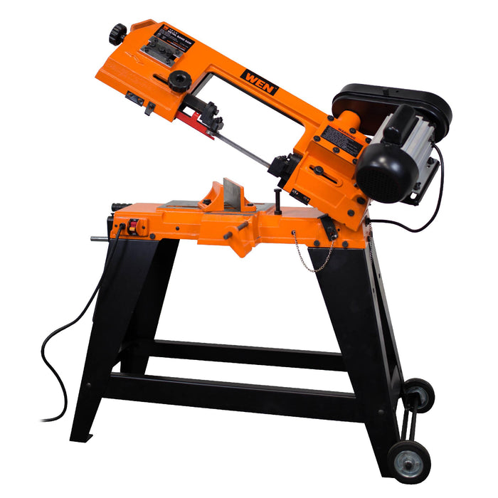 WEN R3970 4-by-6-Inch Metal-Cutting Band Saw with Stand (Manufacturer Refurbished)