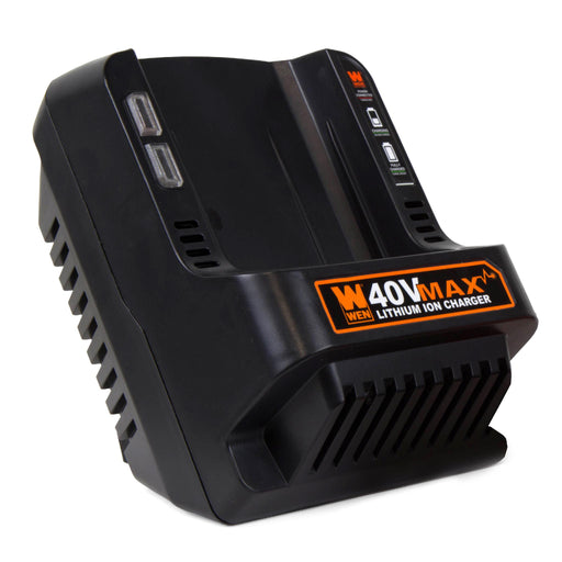 [40400] WEN 40V Max Lithium-Ion Quick Charger