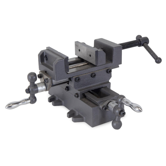WEN 413CV 3.25-Inch Compound Cross Slide Industrial Strength Benchtop and Drill Press Vise