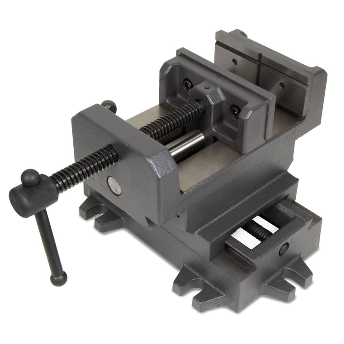 WEN 415CV 5-1/8-Inch Compound Cross Slide Industrial Strength Benchtop Vise
