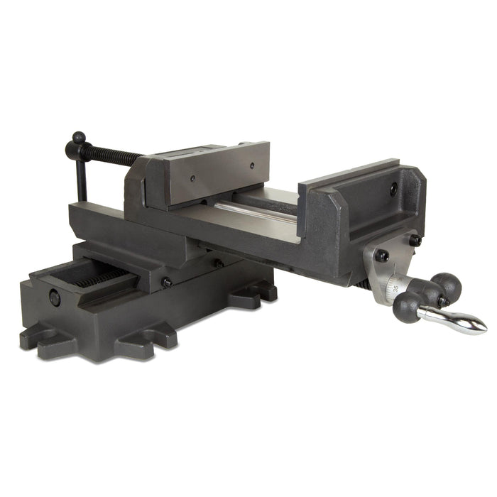 WEN 416CV 6-1/8-Inch Compound Cross Slide Industrial Strength Benchtop Vise