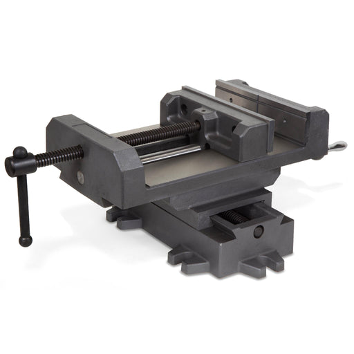 WEN 418CV 8-3/8-Inch Compound Cross Slide Industrial Strength Benchtop Vise