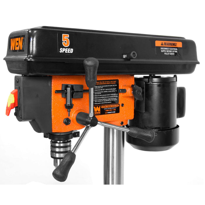 WEN 4206 2.3-Amp 8-Inch 5-Speed Cast Iron Benchtop Drill Press