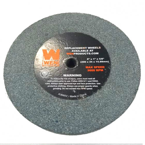 "[4280-019] Left Grinding Wheel (Gray-5/8-Inch Arbor 36-Grit Grinding Wheel, 8"" by 1"")"