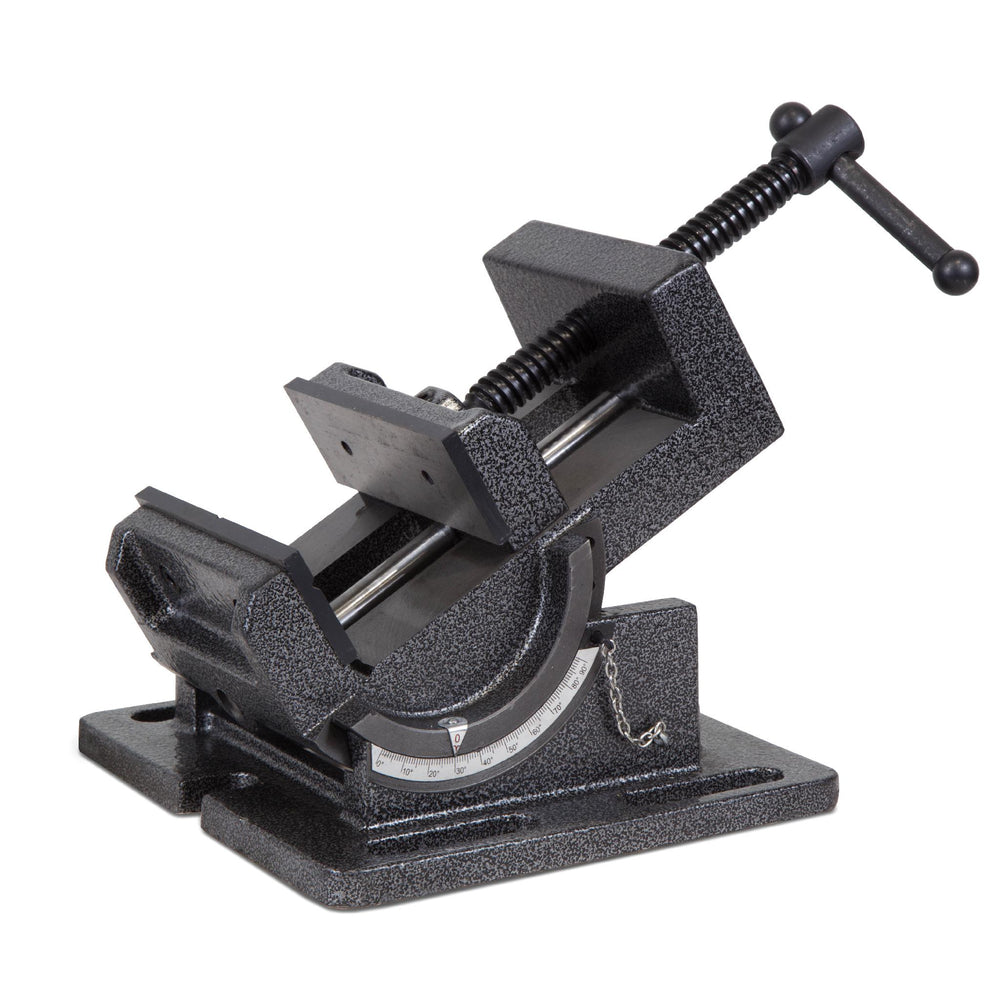 WEN 434TV 4.25-Inch Industrial Strength Benchtop and Drill Press Tilting Angle Vise