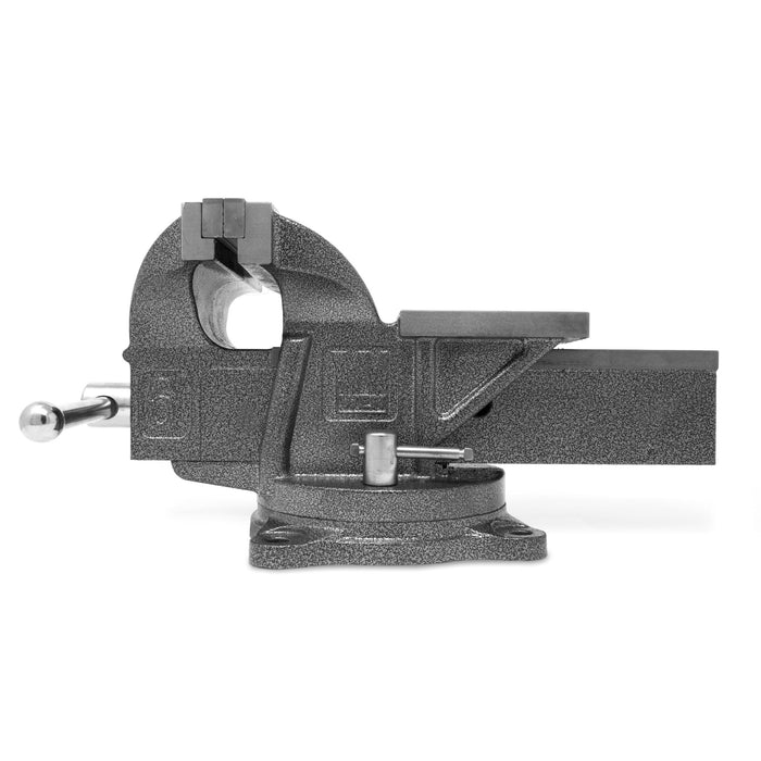 WEN 456BV 6-Inch Heavy Duty Cast Iron Bench Vise with Swivel Base