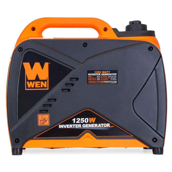 WEN 56125i 1250-Watt Gas-Powered Inverter Generator, CARB Compliant