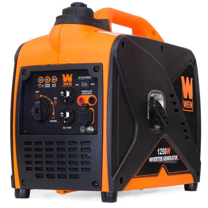 WEN R56125i 1250-Watt Gas-Powered Inverter Generator, CARB Compliant (Manufacturer Refurbished)