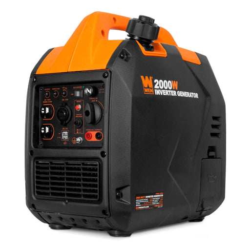 WEN 56202i Super Quiet 2000-Watt Portable Inverter Generator, CARB Compliant