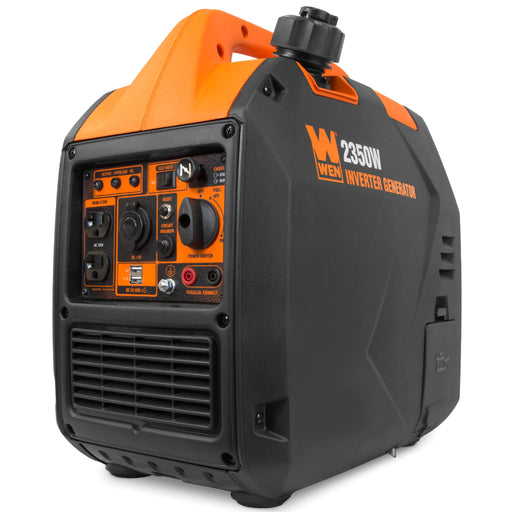 WEN 56235i Super Quiet 2350-Watt Portable Inverter Generator with Fuel Shut Off, CARB Compliant, Ultra Lightweight