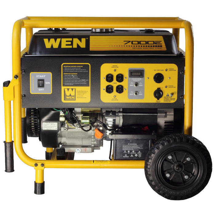 WEN 56682 7000 Watt Electric Start Generator