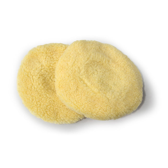 WEN 6010A45 6-Inch Wool Polishing Bonnets (2-Pack)